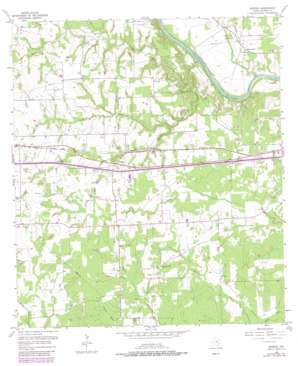 Borden USGS topographic map 29096f6