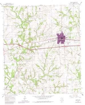 Weimar topo map