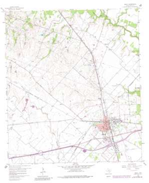 Sealy topo map