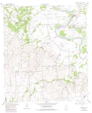 Ammannsville topo map