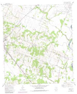 Burleigh topo map