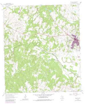 Bellville USGS topographic map 29096h3