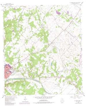 La Grange East USGS topographic map 29096h7