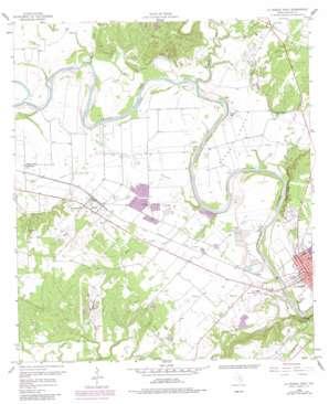 La Grange West USGS topographic map 29096h8
