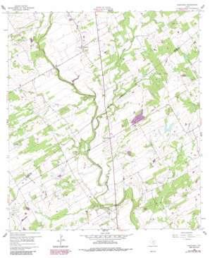 Kosciusko USGS topographic map 29097a8