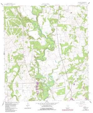 Concrete USGS topographic map 29097b3