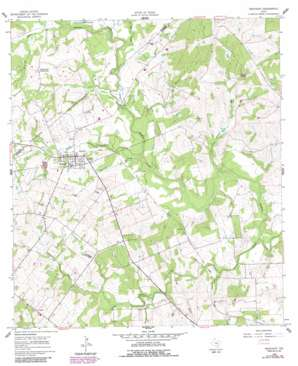 Westhoff USGS topographic map 29097b4