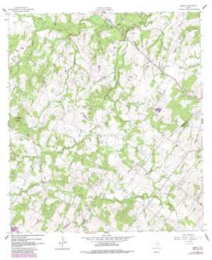 Sample topo map