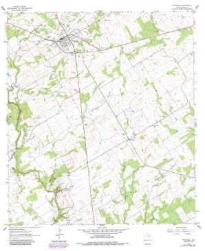 Stockdale topo map