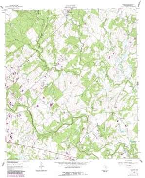 Pilgrim topo map