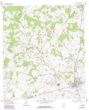Nixon USGS topographic map 29097c7