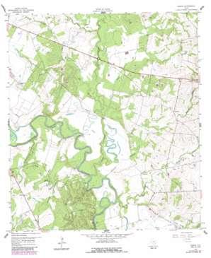 Hamon USGS topographic map 29097d3