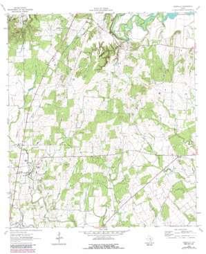 Leesville USGS topographic map 29097d6