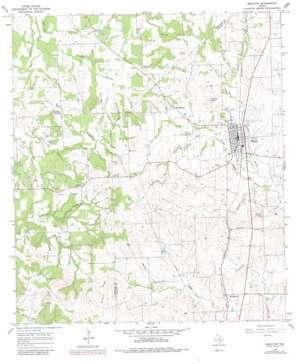 Moulton USGS topographic map 29097e2
