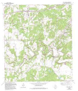 Darst Creek USGS topographic map 29097e7