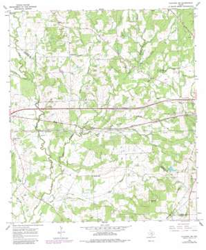 Flatonia Nw USGS topographic map 29097f2