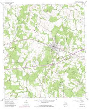 Waelder topo map