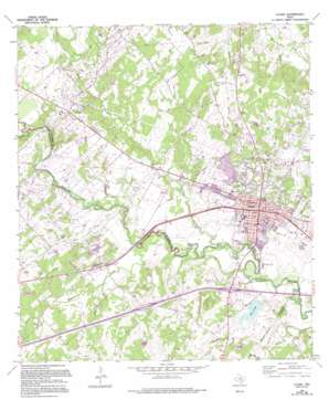 Luling USGS topographic map 29097f6