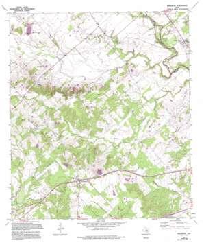 Kingsbury topo map