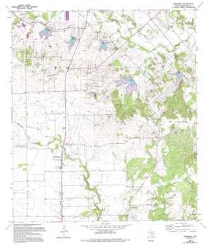 Geronimo USGS topographic map 29097f8
