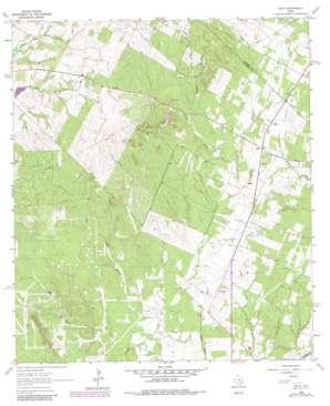 Delhi USGS topographic map 29097g4