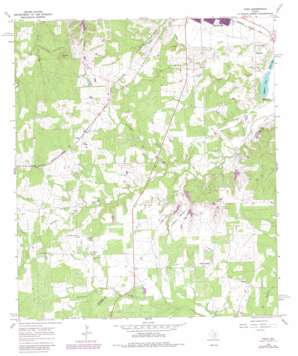 Togo USGS topographic map 29097h2