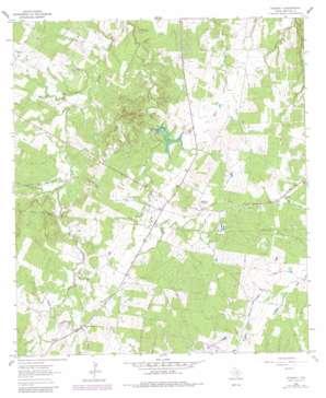 Rosanky topo map