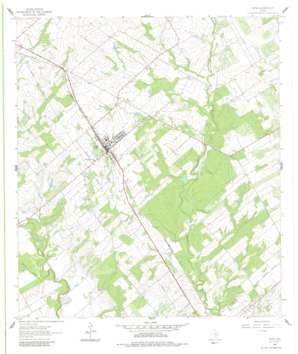 Poth topo map