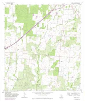Ghost Hill topo map