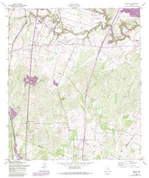 Losoya topo map