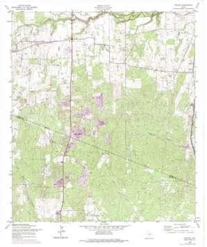 Thelma USGS topographic map 29098b5