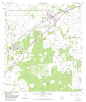 Lytle USGS topographic map 29098b7