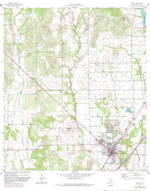 Devine USGS topographic map 29098b8