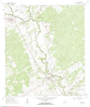 La Vernia USGS topographic map 29098c1