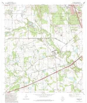 Macdona USGS topographic map 29098c6
