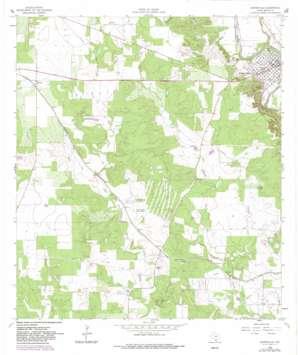 Castroville topo map