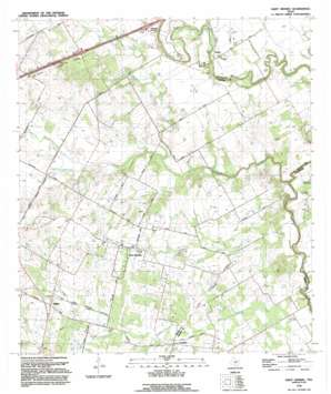 Saint Hedwig USGS topographic map 29098d2