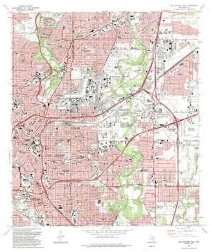 San Antonio East USGS topographic map 29098d4