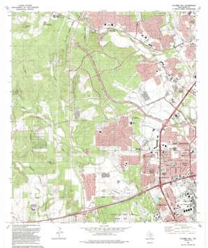 Culebra Hill USGS topographic map 29098d6