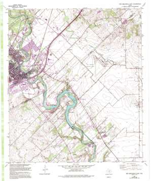 New Braunfels East USGS topographic map 29098f1