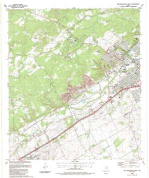 New Braunfels West USGS topographic map 29098f2