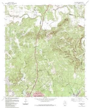 Bulverde USGS topographic map 29098f4