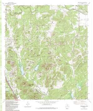 Camp Bullis topo map