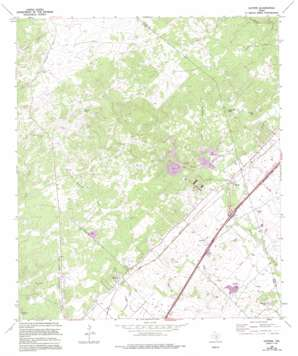 Hunter USGS topographic map 29098g1