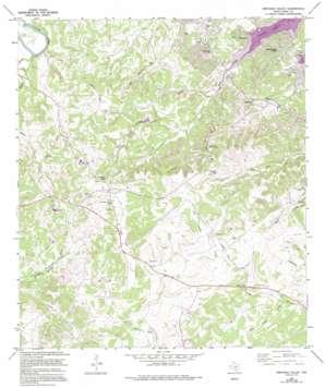 Smithson Valley topo map