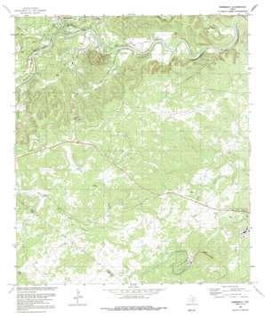 Wimberley topo map