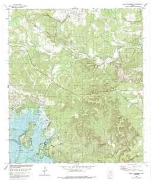 Devils Backbone USGS topographic map 29098h2