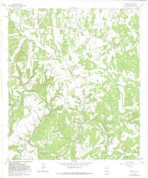 Kendalia USGS topographic map 29098h5