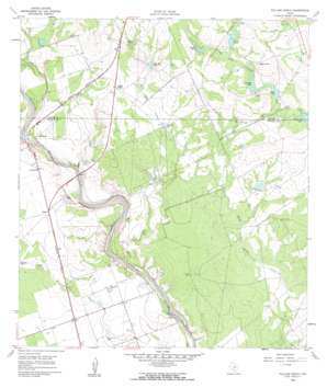 Pulliam Ranch USGS topographic map 29099a7