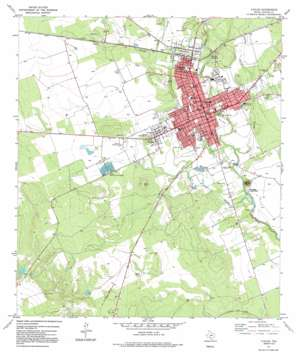 Uvalde USGS topographic map 29099b7
